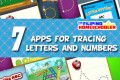 Apps for Tracing Letters and Numbers