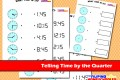 Telling Time By The Quarter Worksheet