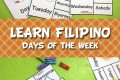 Learn Days of the Week in Filipino