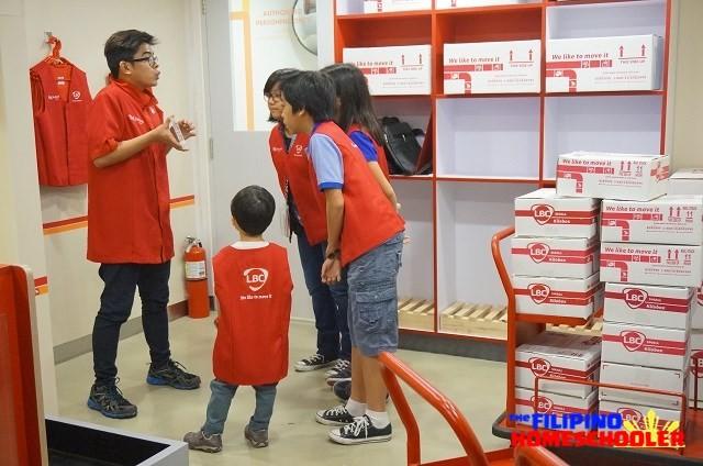 KidZania Manila Courier Service