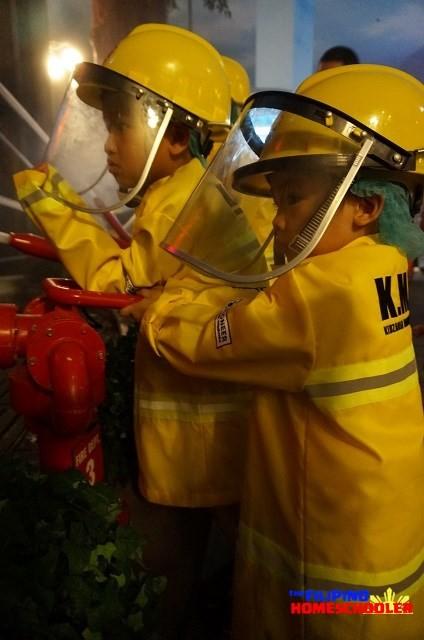 KidZania Manila Fire Fighter