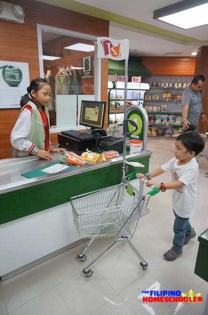 KidZania Manila Supermarket