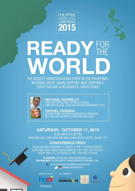 Philippine Homeschool Conference 2015 Ready for the World