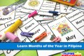 Learn the Months of the Year in Filipino