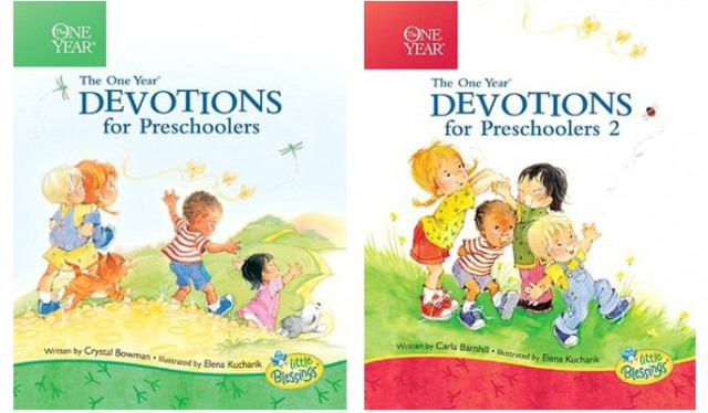 The One Year Devotions for Preschoolers Books