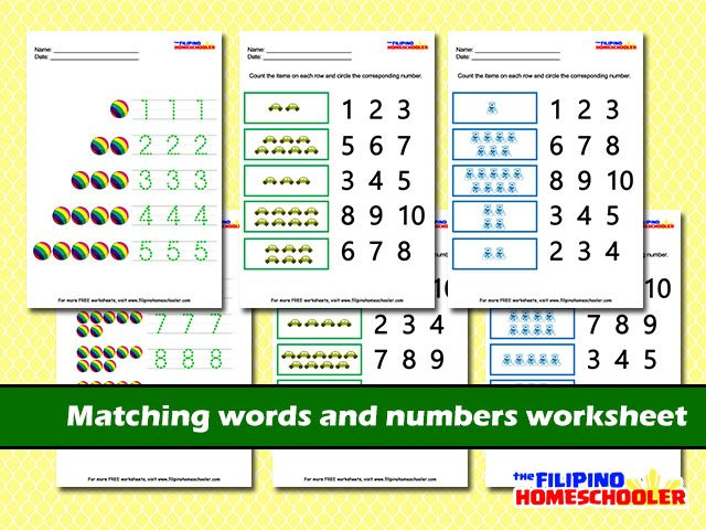 Number Recognition Worksheets: Number Recognition Worksheets At Alzheimers-prions.com