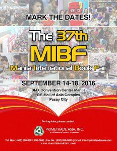 Manila International Book Fair 2016