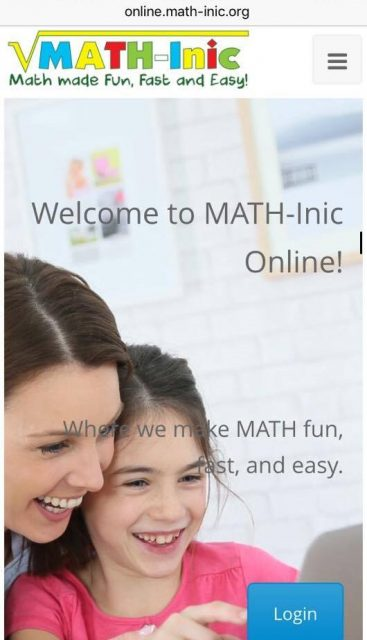 The MATH-Inic Online Making Math Fun, Fast & Easy!