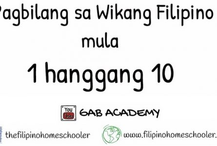 Learn How to Count in Filipino