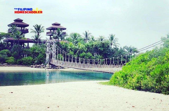 palwan rope suspension bridge singapore