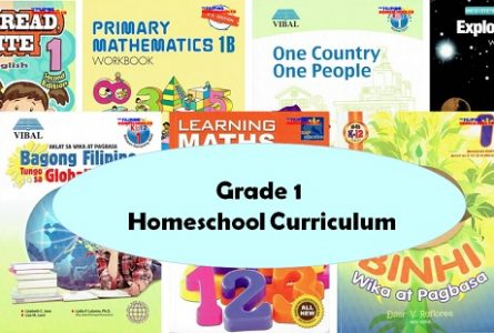 Textbooks for Grade 1 Homeschoolers