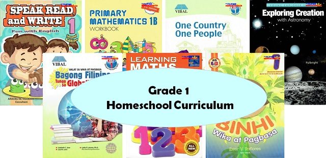 Grade 1 Homeschool Curriculum