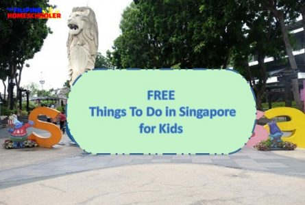 Free Things To Do in Singapore for Kids