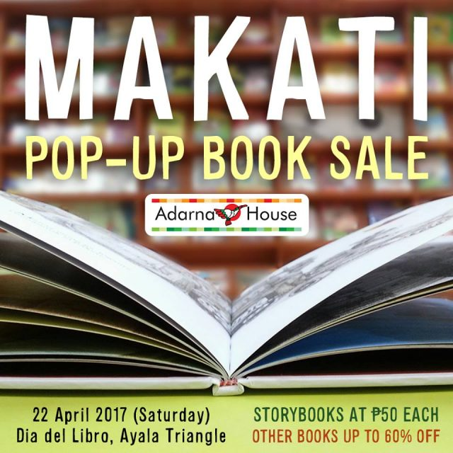 Adarna House Pop-Up Book Sale 2017