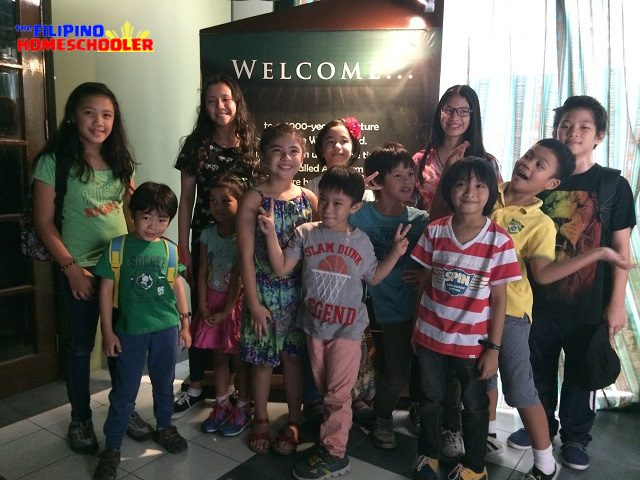 Homeschoolers at the Bible Museum