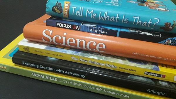 Grade 1 Science Books - Homeschool
