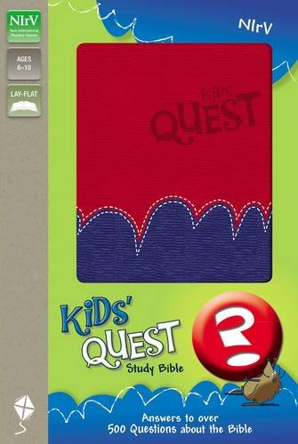 NIrV Bible Kids Quest Cover