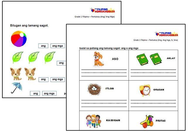 Pantukoy Worksheets