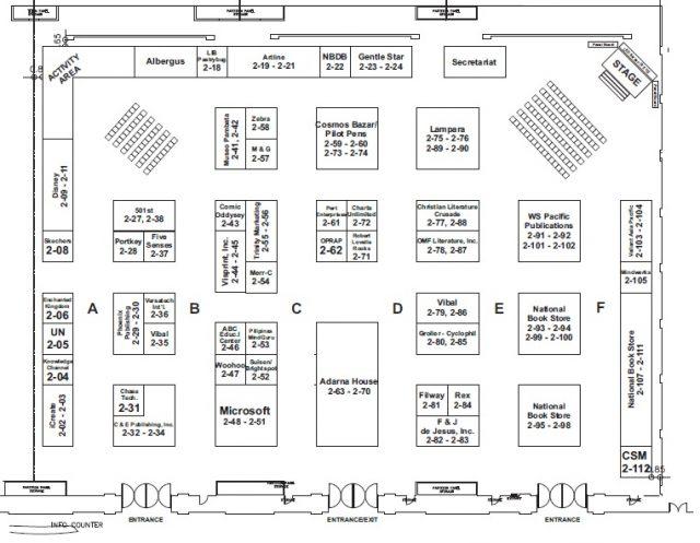 MIBF 2017 Floor Plan 2F
