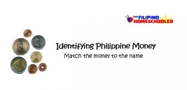 Identifying Philippine Money Worksheets The Filipino