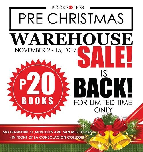 BooksForLess Warehouse Sale 2017