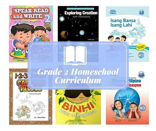 Textbooks for Grade 2 Homeschoolers