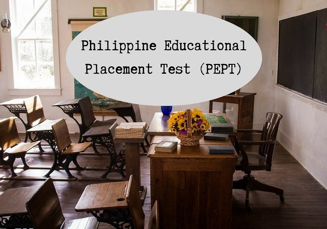 Philippine Educational Placement Test PEPT What Is It And